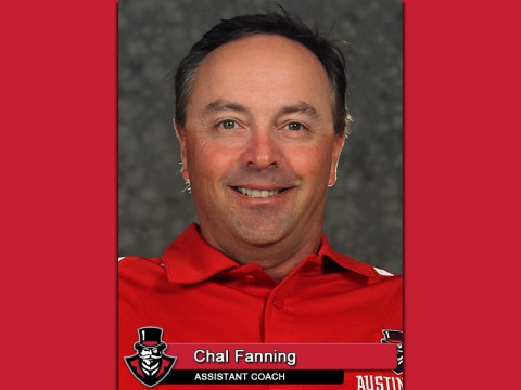 APSU Assistant Coach Chal Fanning