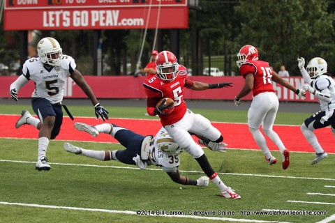 Austin Peay Football falls to Chattanooga 42-6.
