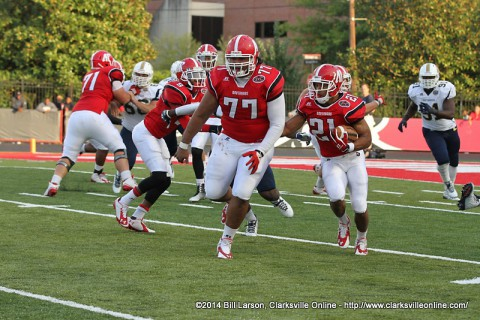 Austin Peay Football takes on Illinois State Saturday.
