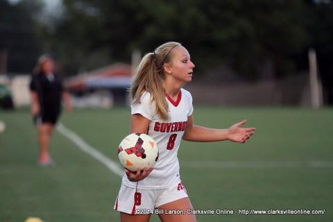 Austin Peay Women Soccer's Mallory Burman.