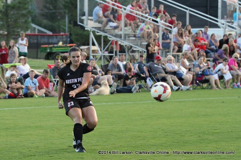 Austin Peay Women's Soccer to face Kennesaw State and Middle Tennessee at Blue Raider Classic this weekend. (APSU Sports Information)