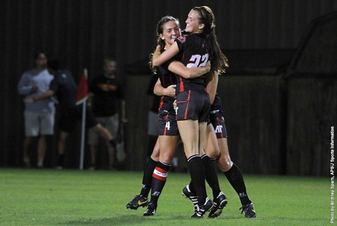 Austin Peay Women's Soccer gets 3-1 win over Eastern Kentucky. (APSU Sports Information)