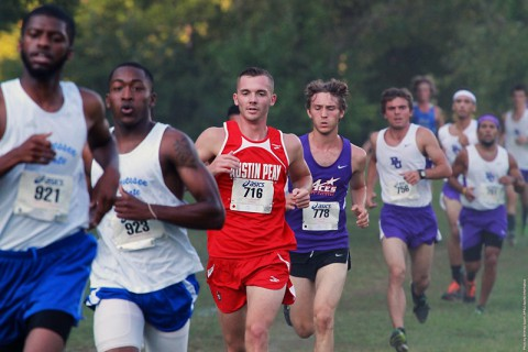 Austin Peay Men's Cross County at Powerade Invitational this weekend. (APSU Sports Information)