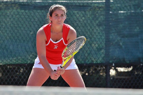 Austin Peay Women Tennis'Ornella Di Salvo. (APSU Sports Information)