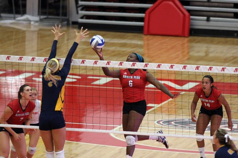 APSU Lady Govs Volleyball