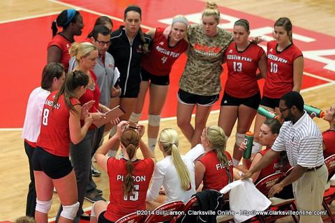 APSU Women's Volleyball