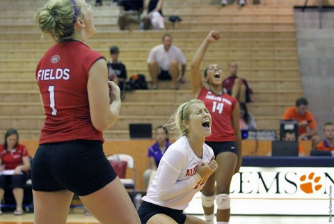 Austin Peay Volleyball travels to the Akron Invitational this weekend. (APSU Sports Information)