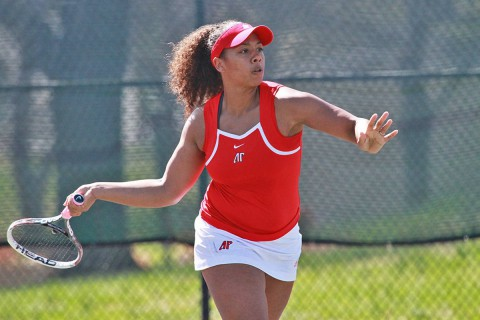 APSU Lady Govs Tennis player Brittney Covington (APSU Sports information)
