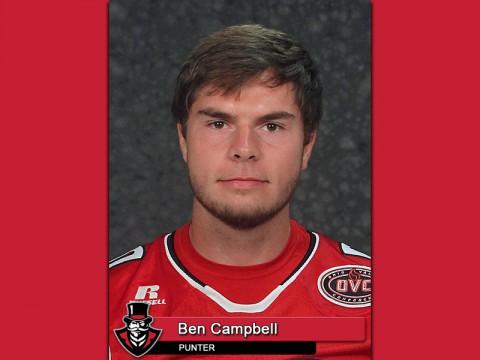 APSU's Ben Campbell