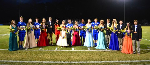 The 2014 Clarksville Academy Homecoming Court