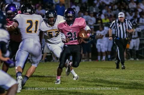 Clarksville High wildcats tame Northeast Eagles 17-12.