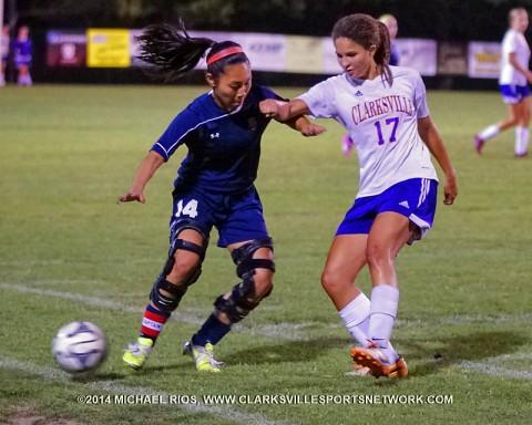 Clarksville High School Soccer defeats Henry County 8-0. (Michael Rios - Clarksville Sports Network)