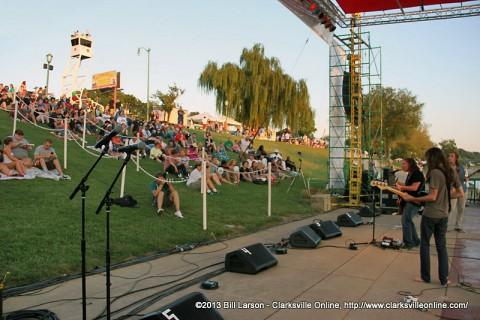 Clarksville's Riverfest 2014 begins Friday night, September 5th.