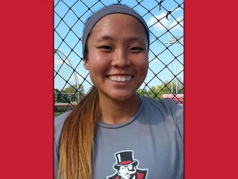 Austin Peay Softball's Erica Inagaki.