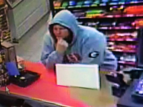 Clarksville Police Department needs help identifying the robbery suspect in this photo.