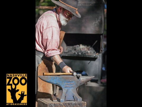 Harvest Days Blacksmith. (Amiee Stubbs)