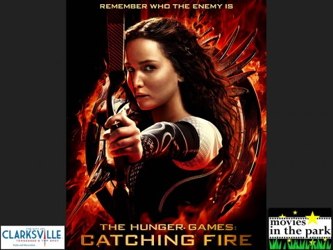 """Hunger Games 2: Catching Fire"" to be shown at Clarksville's Movies in the Park this Saturday."