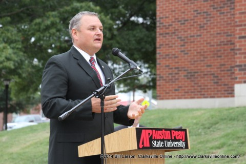 Derek van der Merwe, the Director of Athletics at Austin Peay State University, steps down to become University's VP for Advancement, Communication and Strategic Initiatives