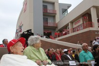 The Ribbon Cutting Ceremony at the new APSU Governor's Football Stadium