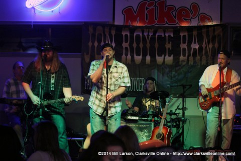 The Jon Royce Band Performing at Mike's Bar & Grill on August 16th