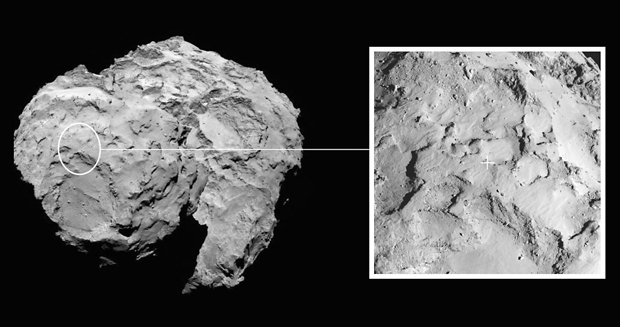 philae comet lander nasa - photo #9