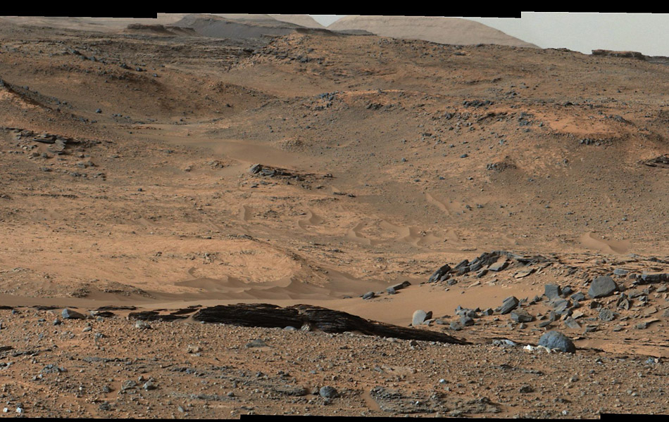 gale crater rover in mars - photo #15