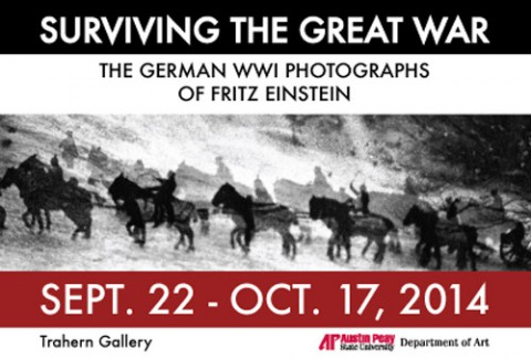 Exhibition at APSU showcases rare WWI photographs