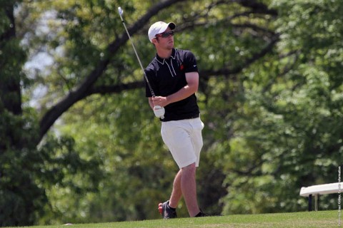 Austin Peay Mens Golf' Chris Baker shot a 1-under 71 to lead the Govs, Tuesday. (APSU Sports Information)