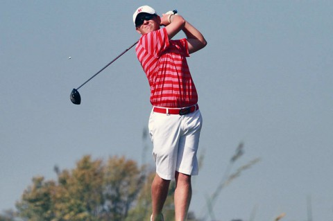 Austin Kramer shot a 2-under 70 in the opening round of the Golfweek Conference Challenge. (APSU Sports Information)
