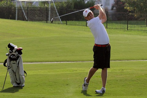 Austin Peay's Austin Kramer is in fourth place after two rounds of GolfWeek Conference Challenge. (APSU Sports Information)