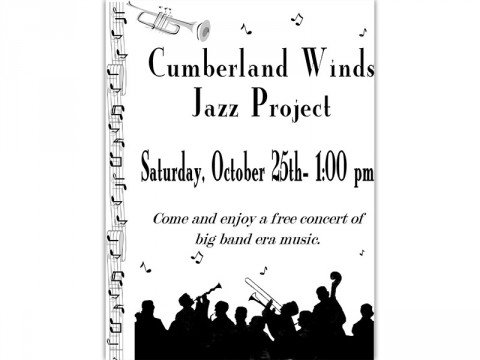 Cumberland Winds Jazz Project to perform at Clarksville-Montgomery County Public Library Saturday.