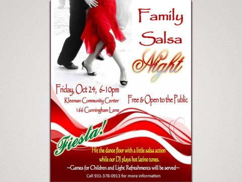 2014 Family Salsa Night