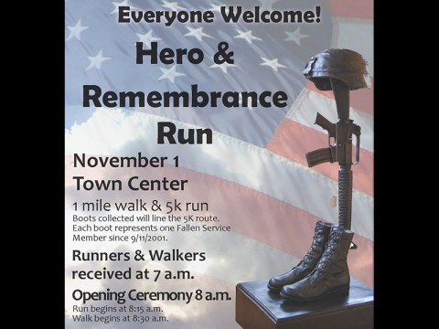 2014 Hero and Remembrance Run, Walk or Roll