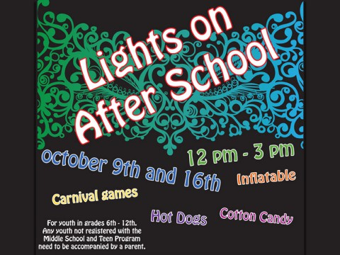 Fort Campbell MWR's Lights on After School event.