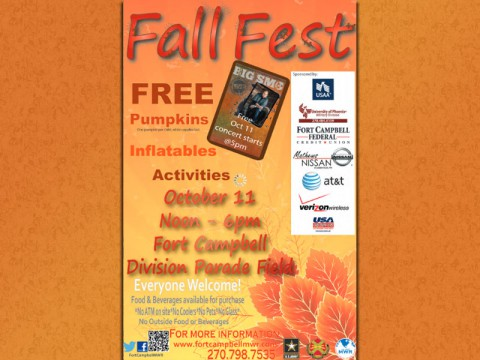 2014 Fort Campbell MWR Fall Fest