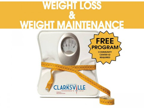 Weight Loss and Weight Maintenance Program at Crow Community Center beginning October 11th.