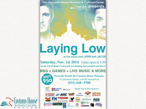 4th Annual Laying Low to be held November 1st
