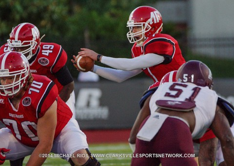 Austin Peay Football loses 31-0 to Eastern Kentucky Saturday night at Governors Stadium.
