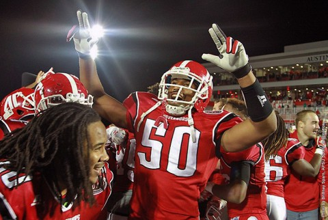 Austin Peay Governors Football gets 20-13 win over Murray State Saturday night. (APSU Sports Information)