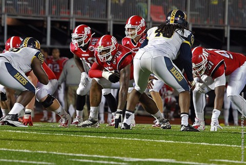 Austin Peay Governors Football at Jacksonvile State Saturday. (APSU Sports Information)
