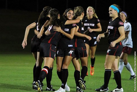 Austin Peay Lady Govs Soccer team. (APSU Sports Information)