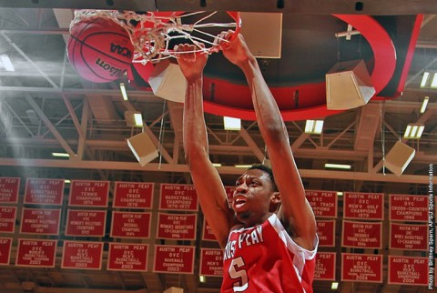 Preseason All-OVC selection Chris Horton returns to lead the Austin Peay Govs in 2014-15. (APSU Sports Information)