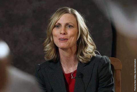 Austin Peay Women's head coach Carrie Daniels. (APSU Sports Information)