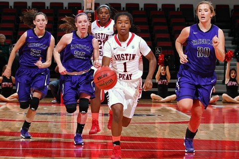 Austin Peay Women's Basketball hosts St. Catharine at the Dunn Center Saturday. (APSU Sports Information)