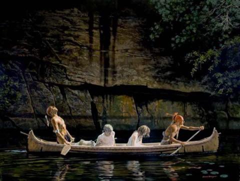 The Captives - by David Wright. (www.davidwrightart.com)