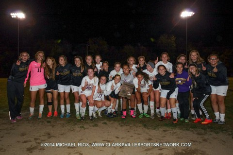 Clarksville High Lady Wildcats Soccer beats Hendersonville in Region 5-AAA Championship game