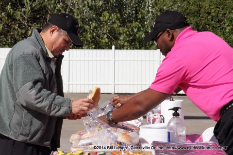 On Friday, October 18th, 2014, Convenient Car Care Inc. of Clarksville held a cookout at their Valvoline Instant Oil change on Wilma Rudolph Boulevard to raise cancer awareness.