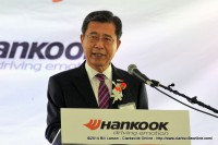 Mr. Seung Hwa Suh, Vice Chairman and CEO of Hankook Tire