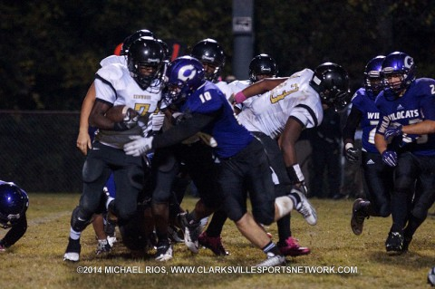 Kenwood High Football beat Clarksville High 20-17 last Friday.