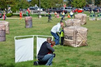 Laser Tag was a huge hit at Campbell Crossing's 2014 Fall Festival.